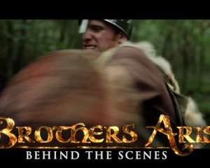"BROTHERS ARISE – Behind the Scenes – ""Caleb's Shield"""